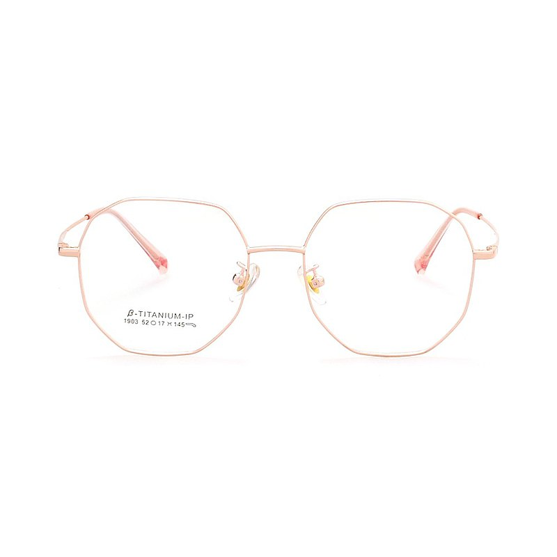 2020-Korea customer design ∣Perfect Polygonal Glasses-Rose Gold [new tasting price]