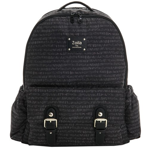Large capacity backpack_Line black Go Go Bag Walking bag_Backpack_Children's bag