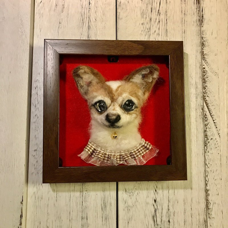 |Three-dimensional wool felt|pet memorial decoration|customized|commemorative|100% wool|collection
