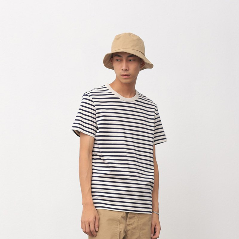 chichaqu | Blue label - Organic cotton striped T-shirt