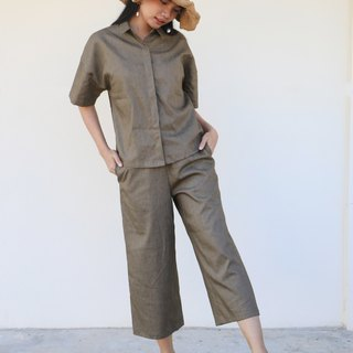 Lumyai Paper Pants / Cotton Linen Hemp