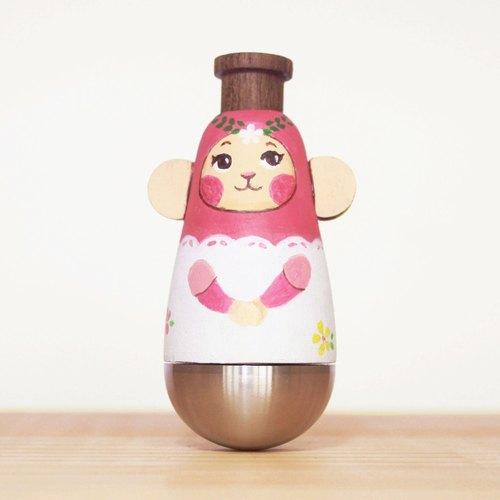 Wen Sen Di – Small Pink Monkey KAZOO Doll