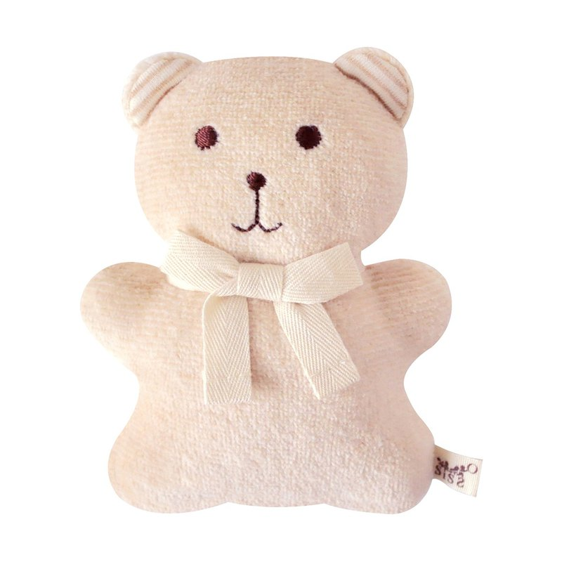[SISSO organic cotton] color cotton café coffee bear molars doll
