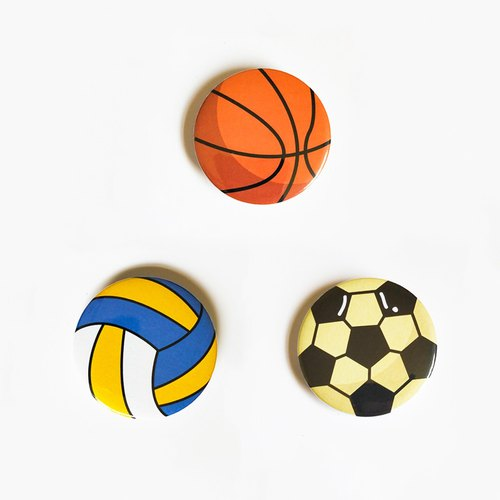 Ball badges