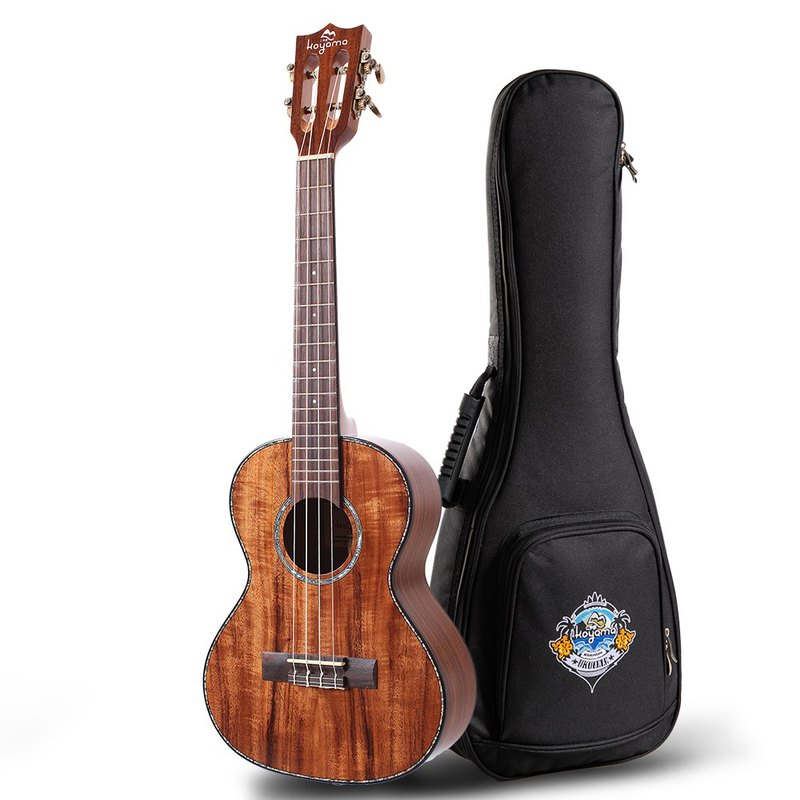 KYM-300SAC-T 26吋Ukulele All Solid Acacia Tenor Ukulele