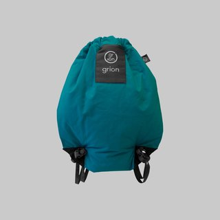 grion waterproof bag - back section (S) Turkey blue