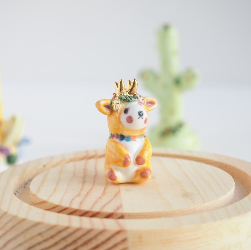 The Panda Dear Ceramic Figure
