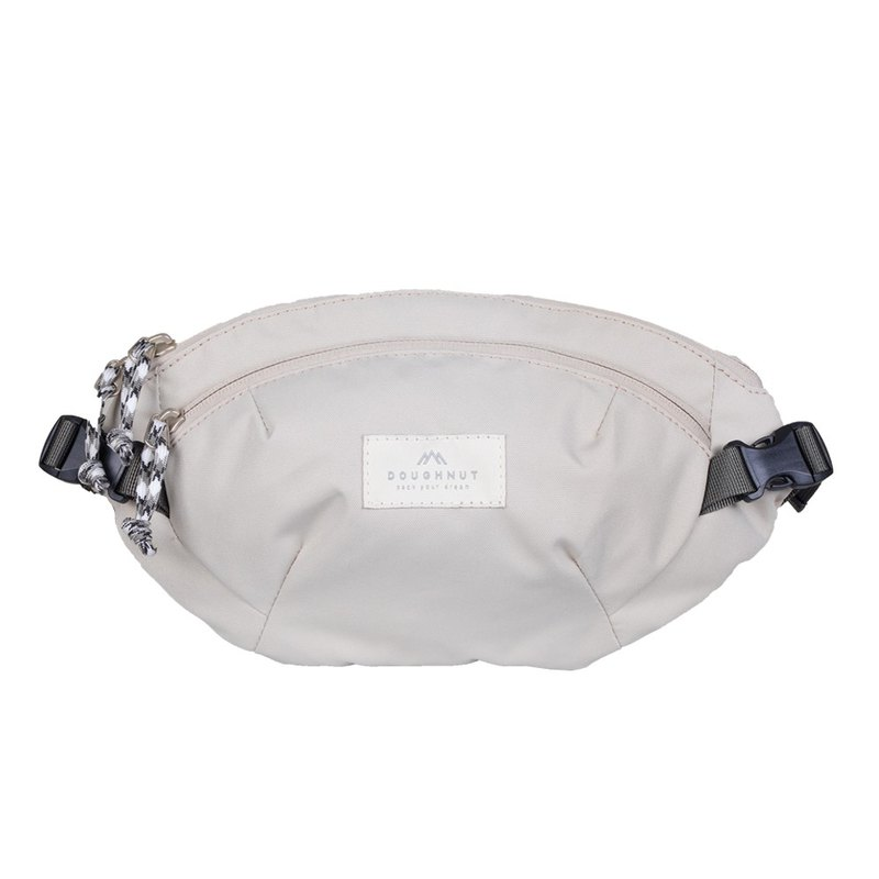 Doughnut Yao Aining's One Shoulder Waist Bag - Stone