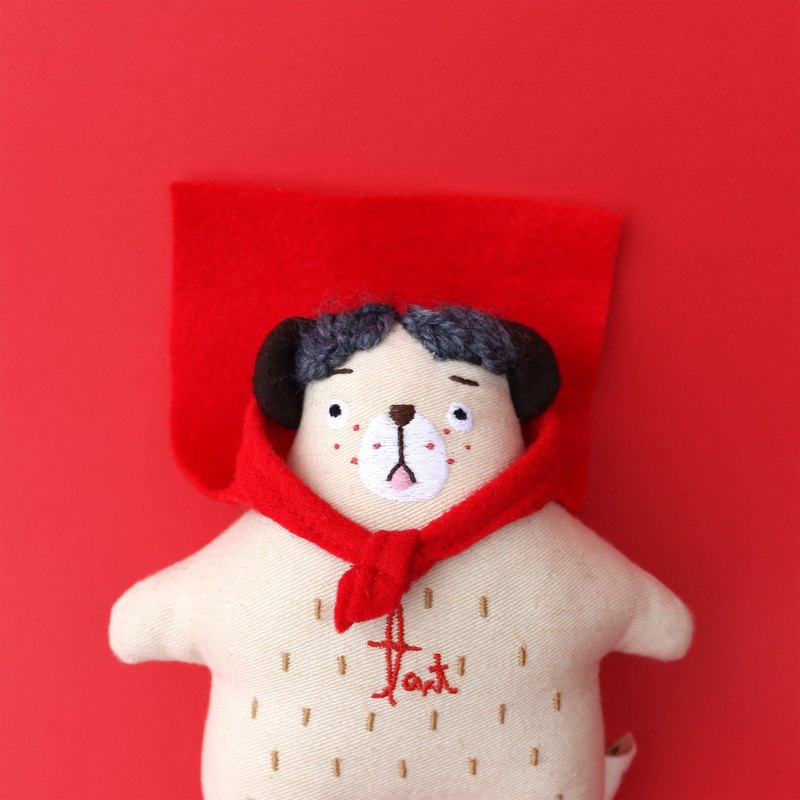 Bear A tart / theory theory small role utterance embroidery cloth dolls
