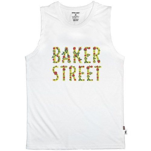 British Fashion Brand [Baker Street] Printed Vest