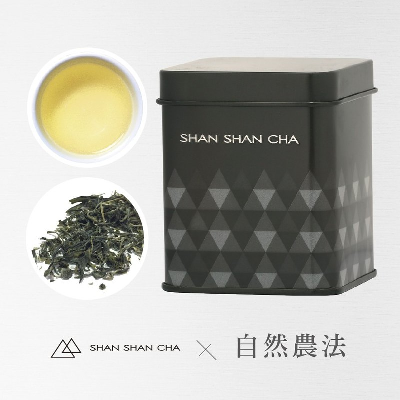 [Mountains came to tea] natural farming method Cuiyu green tea tea (30g/can)