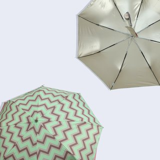 [Taiwan's Cultural Rain's talk] anti-summer turn playing geometry anti-UV fold umbrella