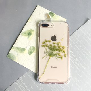 Wanderer's Song Real Flower Embossed Phone Case