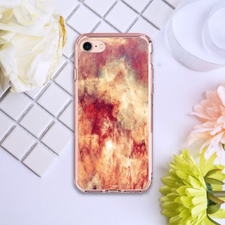 Ice crystal shell - limited edition | polar marble series [flames red | pink box] iPhone 7 full version of the protective cover for - original phone case / protective cover / shatter-resistant shell / phone shell / air shell