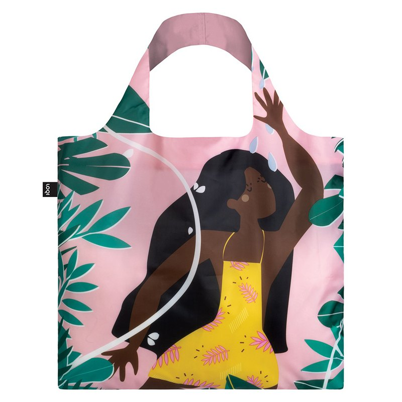 LOQI Shopping Bag - Jungle Girl CWJF
