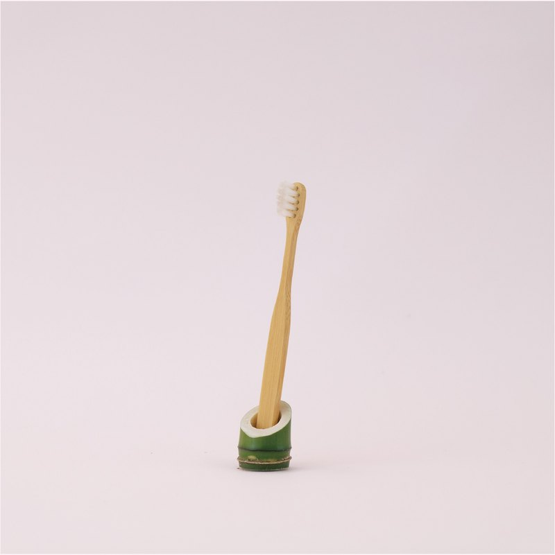 Genqi Bamboo Toothbrush Series - Small Yuan Qi Bamboo Toothbrush (two sets) with lettering service