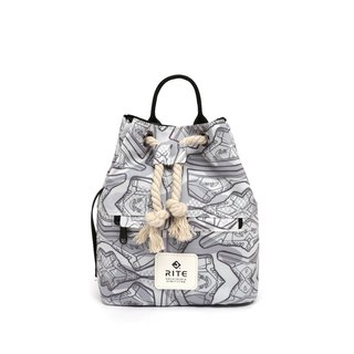 [RITE] Le Tour Series - Dual-use Boxing Small Backpack - Camouflage Sneakers