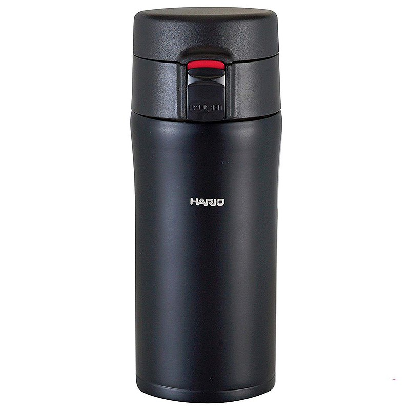 HARIO 雙層不鏽鋼黑色隨身瓶 /VSM-35B