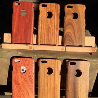 Buy One Get One Free - i6 / i6PLUS Wood Plain Series Phone Case - Limited Time Promotions