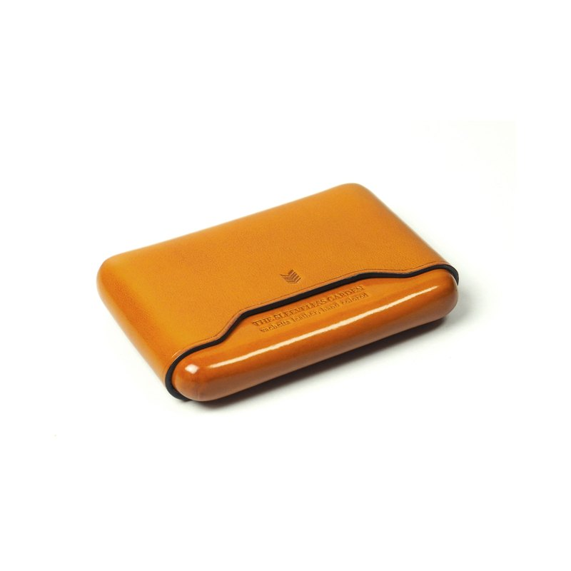 Name card leather case /Laterite TAN