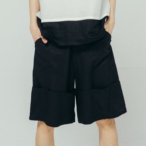 8 lie down_Return pants