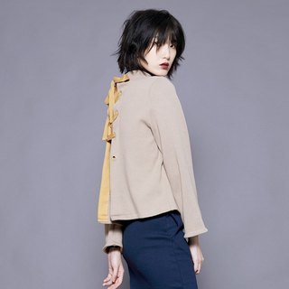 BLOOMS TOP/ BEIGE