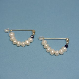 Girl with Pearl Earrings - Pin Pearl Earrings
