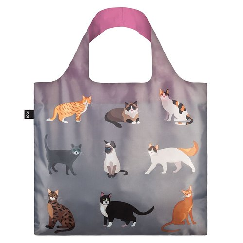 LOQI Spring roll bag / meow CAME