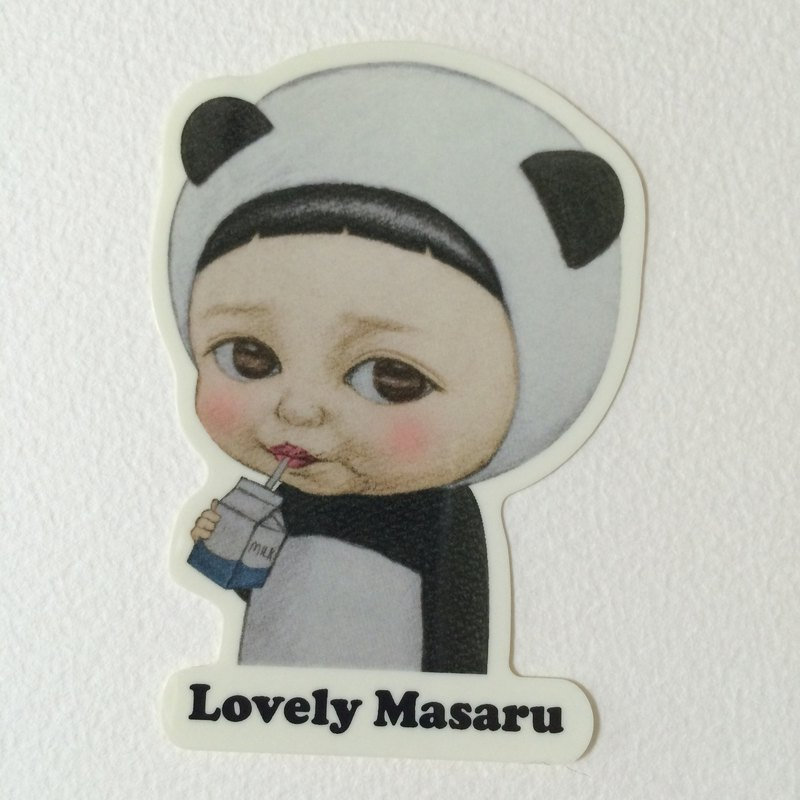 Mini sticker / Lovely Masaru / milk