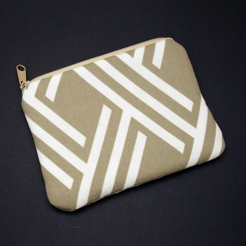 Zipper pouch / coin purse (padded) (ZS-228)