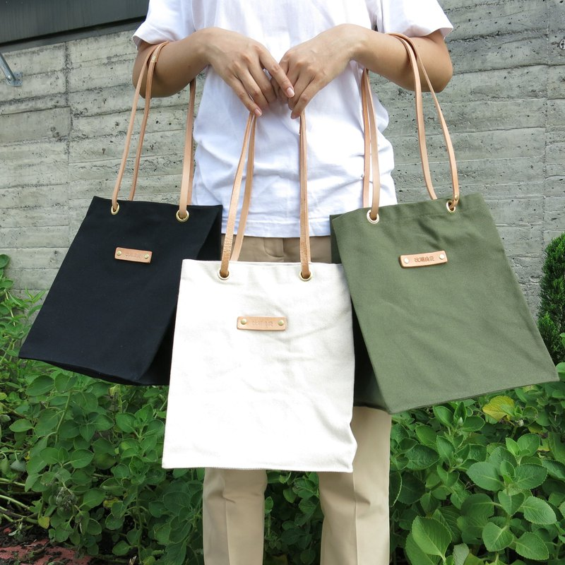 Nostalgic big leather sails out of the bag - multi-color optional can be used as a shopping bag carry bag [change tide change bag]