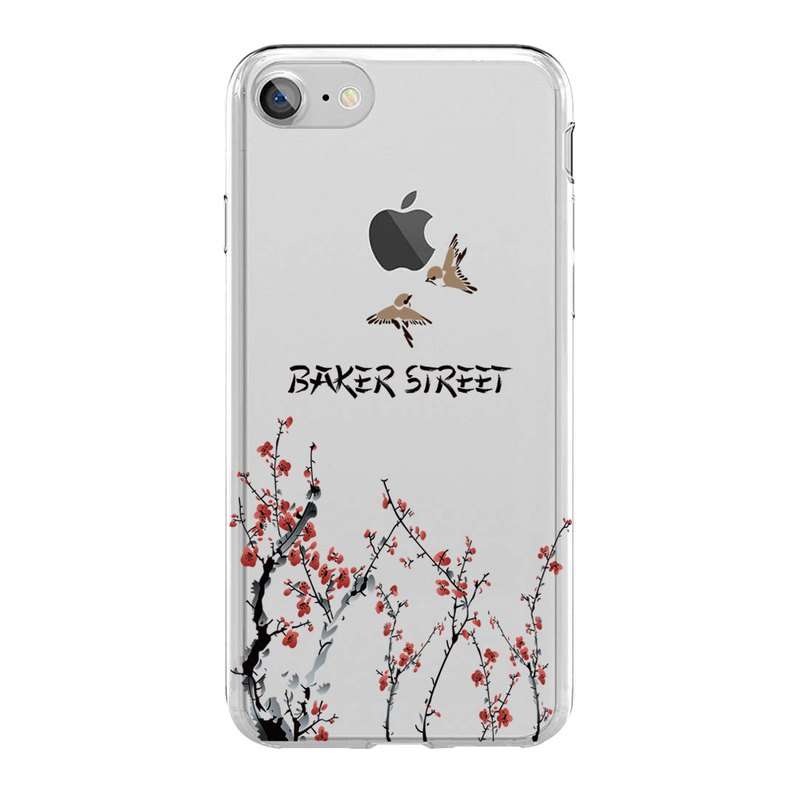 British Fashion Brand -Baker Street- iPhone Case - Image of East