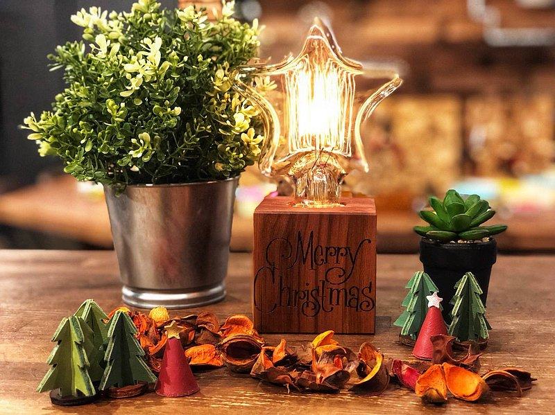 Q比克造型桌燈-禮物/生日禮物/手作禮物