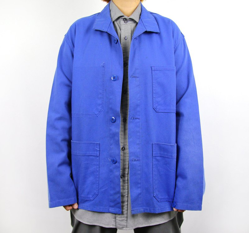 Back to Green:: European Tooling Indigo //Workers Jacket Vintage