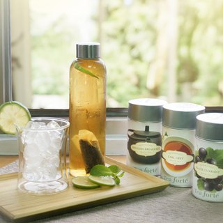 = Summer limit = cold tea + double insulated glass