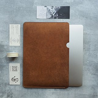 Apple mac/ipad tablet/kindle leather protective cover handmade design customized