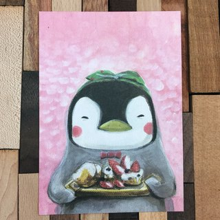 Miss Penguin - The Healing Dessert - The Daily Collection of Animals