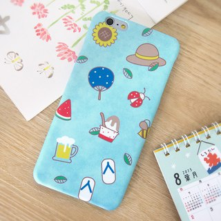 Those Summer Days iPhone case
