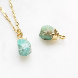 :: Gold Mine Series :: Turquoise Clavicle Necklace