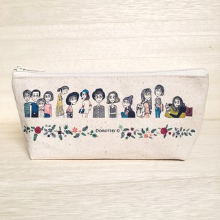 Beautiful reunion pencil case cosmetic bag