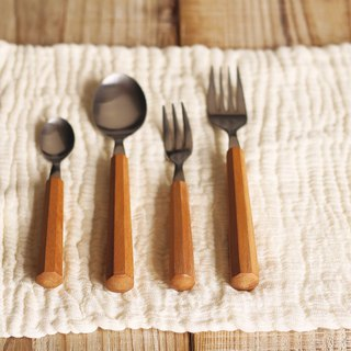 MEISTER HAND ATTA wood cutlery / fork / spoon