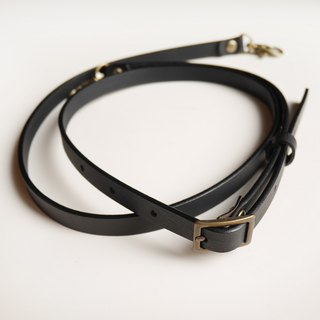 Leather leather strap 120cm adjustable length [made in Taiwan]