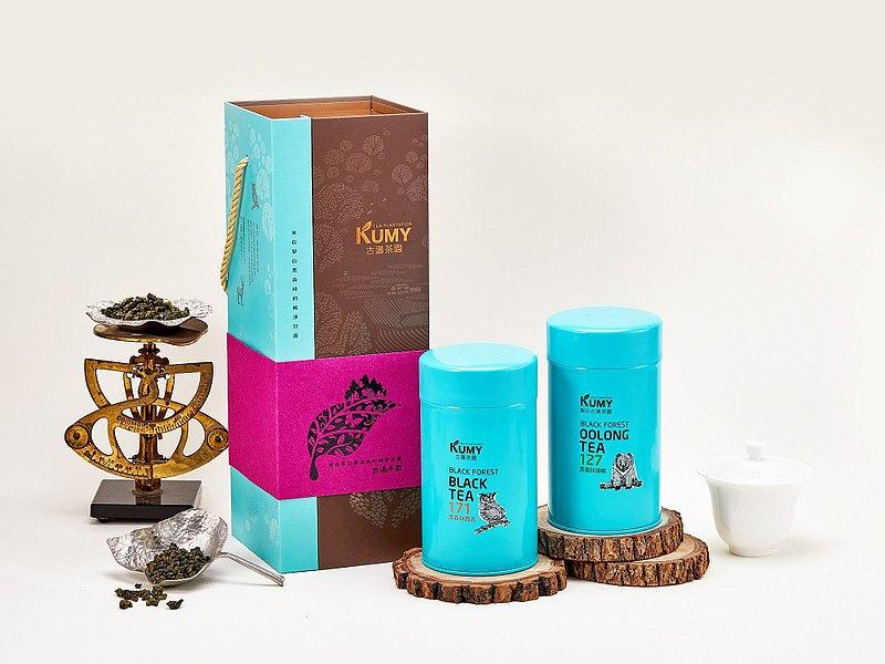 新年快閃免運 | 山沁禮盒 梨山黑森林 清香烏龍茶, 頂級紅茶