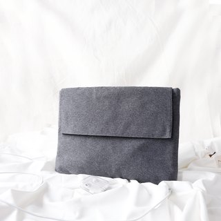 SOFT LAPTOP CASE : DARK GREY COLOUR