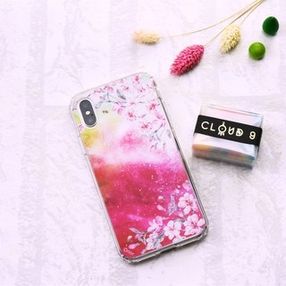 Starry Series [绯红晚霞-花]iPhone/ASUS/HTC/OPPO/SONY Mobile Shell Protector