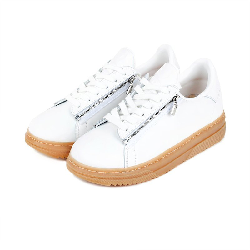 Jdaul Handmade in Korea/ SUPERB DANIKA REVERSE Sneakers GUM WHITE