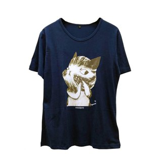 emmaAparty illustrator T: Folding finger cat (wide version limited edition)