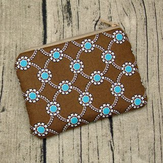 Zipper pouch / coin purse (padded) (ZS-246)