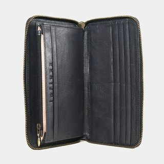 Influxx UN1 Everyday Leather Wallet – Blue Black