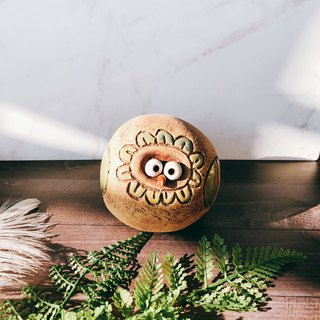 C-40 Owl Decoration │ 吉野鹰x Office Small Things Pottery Design Bell Cute Gift